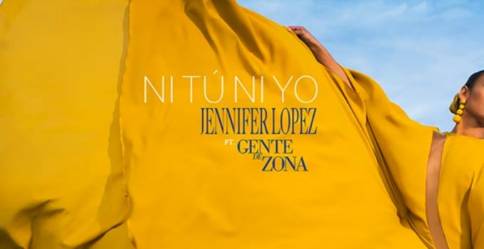"""Torna Jennifer Lopez con il nuovo singolo in spagnolo """"NI TÚ NI YO"""""""