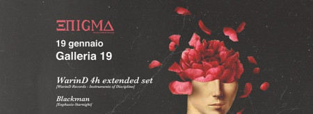 ENIGMA #5 W/ WarinD (4h extended set), Blackman.