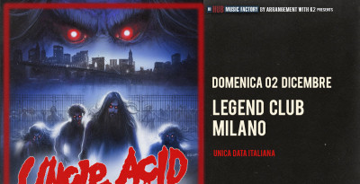 UNCLE ACID & THE DEADBEATS: un grande ritorno per un'Unica Data Italiana!